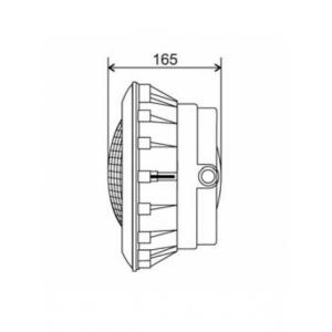 Прожектор Aquant 300Вт-12В под бетон 82101