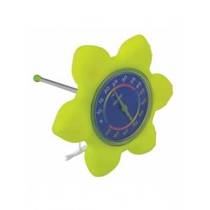 "Термометр плавающий ""Цветок"" Kokido. - K842CBX/GRN"