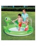 "Игровой бассейн ""Черепаха"" BestWay 53042B Размер: 180 х 152 х 66 см"