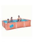 Детский каркасный прямоугольный бассейн BestWay 56222 Размер: 300 x 201 x 66 см