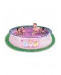 """Детский надувной бассейн с аппликацией """"Принцесса"""" BestWay 91052 Размер: 244 х 66 см"""