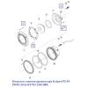 Комплект винтов прожектора Kripsol PLM-PHM (X16) RUWL2381.00R
