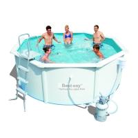 Сборный бассейн Bestway Hydrium 56574 (360x120) с песочным фильтром